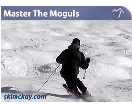 learn to ski moguls