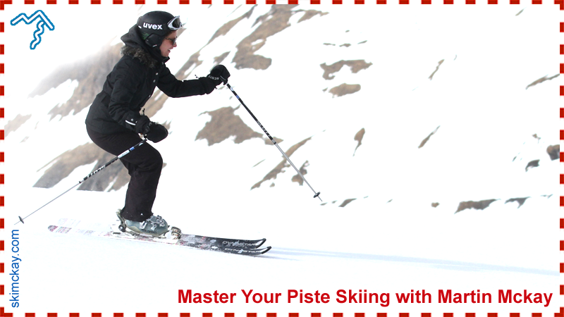 Learn to ski the pistes
