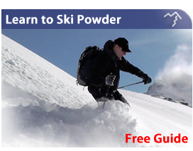Learn to Ski Powder