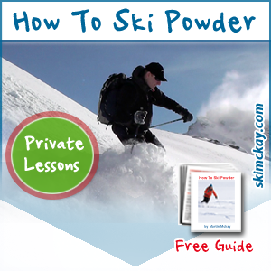 Learn how to Ski Powder snow with complete confidence. Discover how to easily leave Fresh Off Piste Skiing powder!