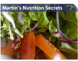 Martin's Nutrition and Energy Secrets