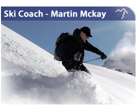 Ski Coach and Instructor - Martin Mckay