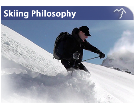 Skiing Philosophy Safety Enjoyment Learning