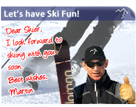 Join Martin and learn to ski in Val d'Isere, France.